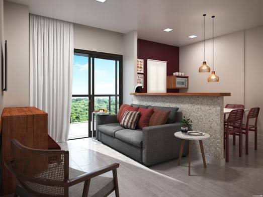 Apartamento Brisa - Sala - Livyd Angra dos Reis