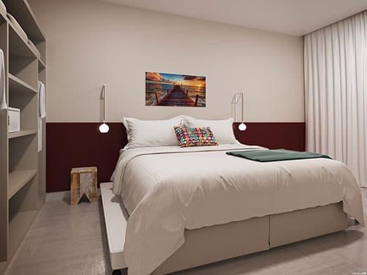 Apartamento Coral - Quarto - Livyd Angra dos Reis