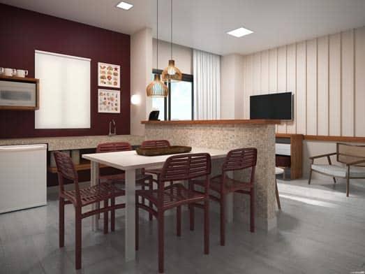 Apartamento Cristal - Sala e Copa - Livyd Angra dos Reis