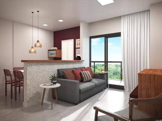 Apartamento Cristal - Sala - Livyd Angra dos Reis