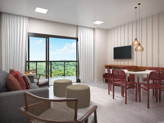 Apartamento Pérola - Sala - Livyd Angra dos Reis